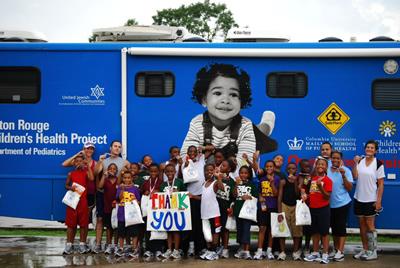 Mobile Health Unit Baton Rouge, Louisiana (LA), Our Lady of